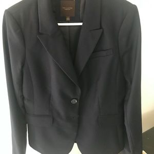 Navy - The Limited Business Suit Jacket